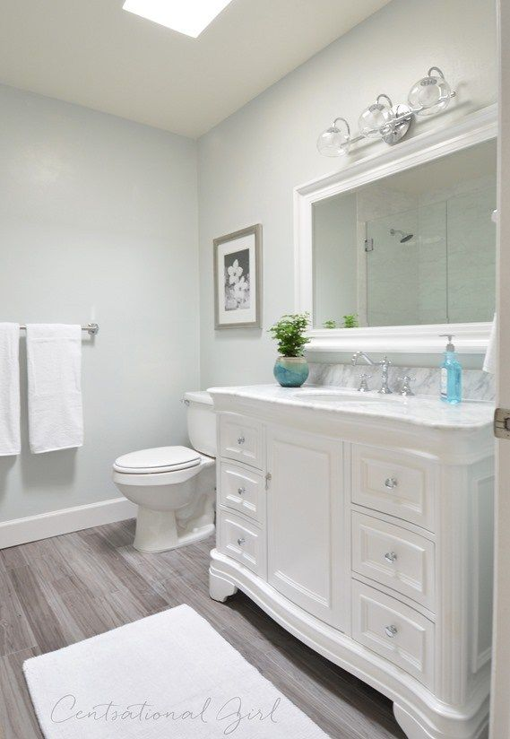 How To Paint Vinyl Bathroom Cabinets 97 best bathroom remodel ideas images on pinterest | bathroom