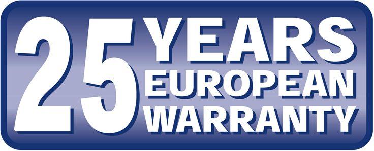 25 lat gwarancji!