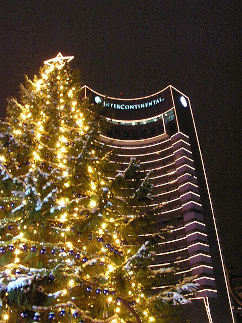 Christmas tree in Bucharest, Romania