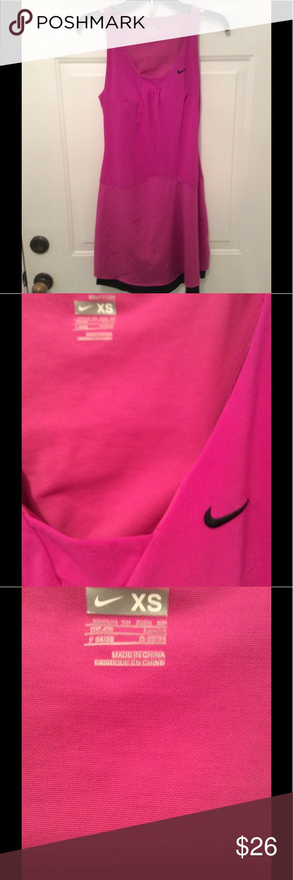 🌺NIKE FIT DRY DRESS WITH BRA BUILT IN-SPORTY 🌺NICE SPORTY NIKE DRESS. WEAR FOR SPORTS AND YOU WILL BE VERY COMFORTABLE. It has a built in bra. It stretches to your moves. You are going to love it. NIKE Dresses