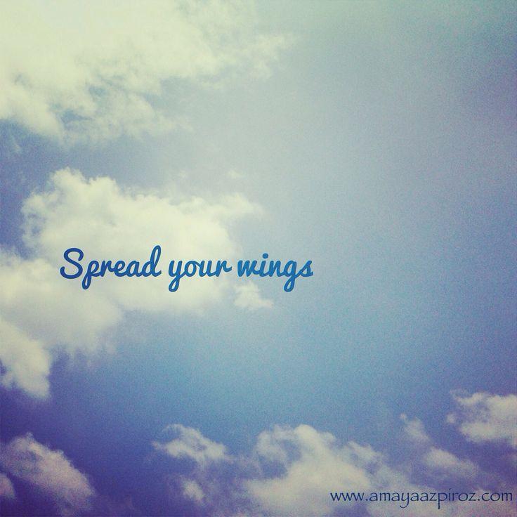 Atrévete a volar, en el intento puede ser que lo logres! La motivación está dentro de ti....
