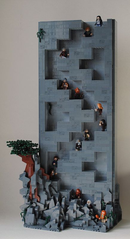Hidden Stairs to Erebor | by Legopold