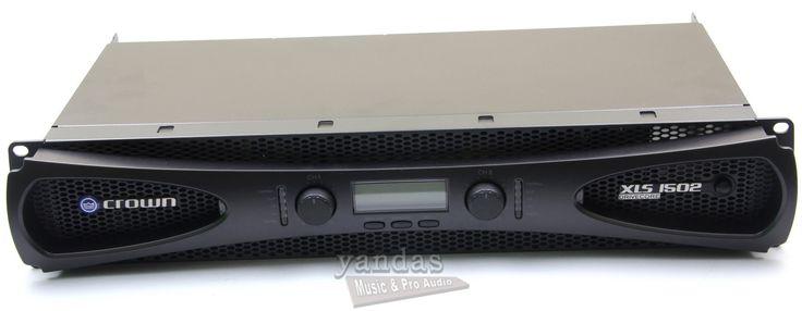 Crown XLS1502 Pro Audio Speaker Power Amplifier