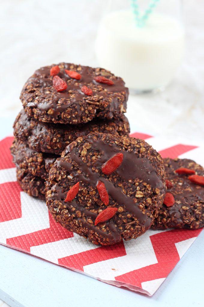 Healthy Chocolate Breakfast Cookies