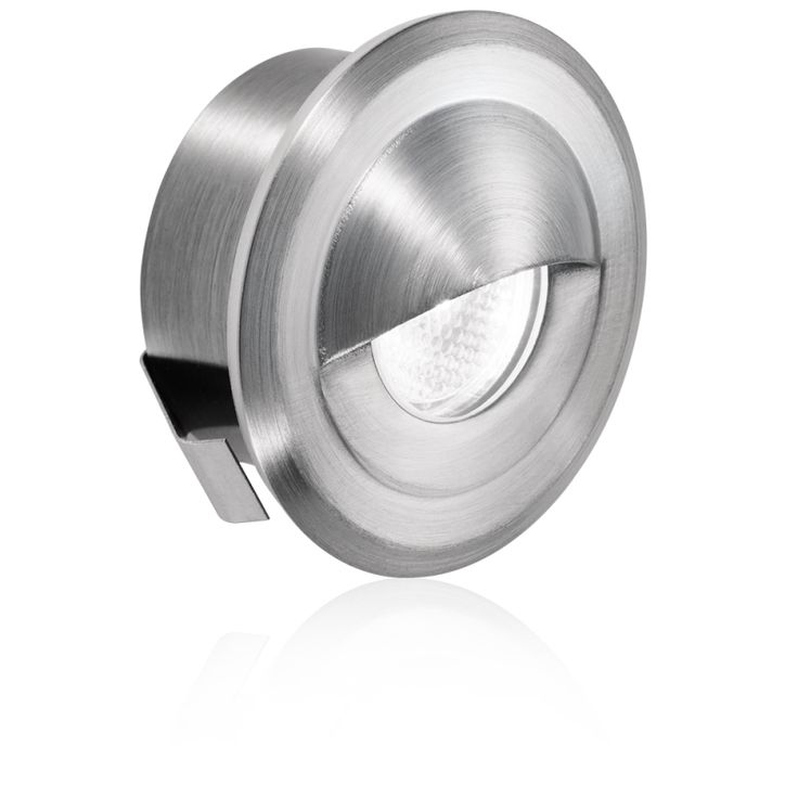 IP66 Low voltage 316 stainless steel LED marker light. Corrosion resistant for use in coastal areas. IP66 Rating allows use in marine / boat applications. Fitted with 1m of cable for connection to a 12V or 24V DC Constant Voltage LED driver. Dimmable with  suitable 1-10v driver