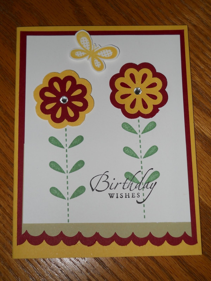 Bold Blossom Triple Punch: Retirement Punch, Triple Punch, Inspiration Ideas, Cards Butterflies, Blossoms Punch, Blossoms Triple, Bold Blossoms