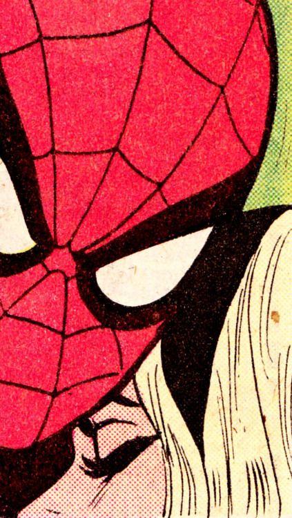 SP I D E R - M A N & G W E N S T A C Y,Amazing Spider-Man #122 (July 1973)Art by Gil Kane (pencils), John Romita Sr. (inks) & Dave Hunt (colors)