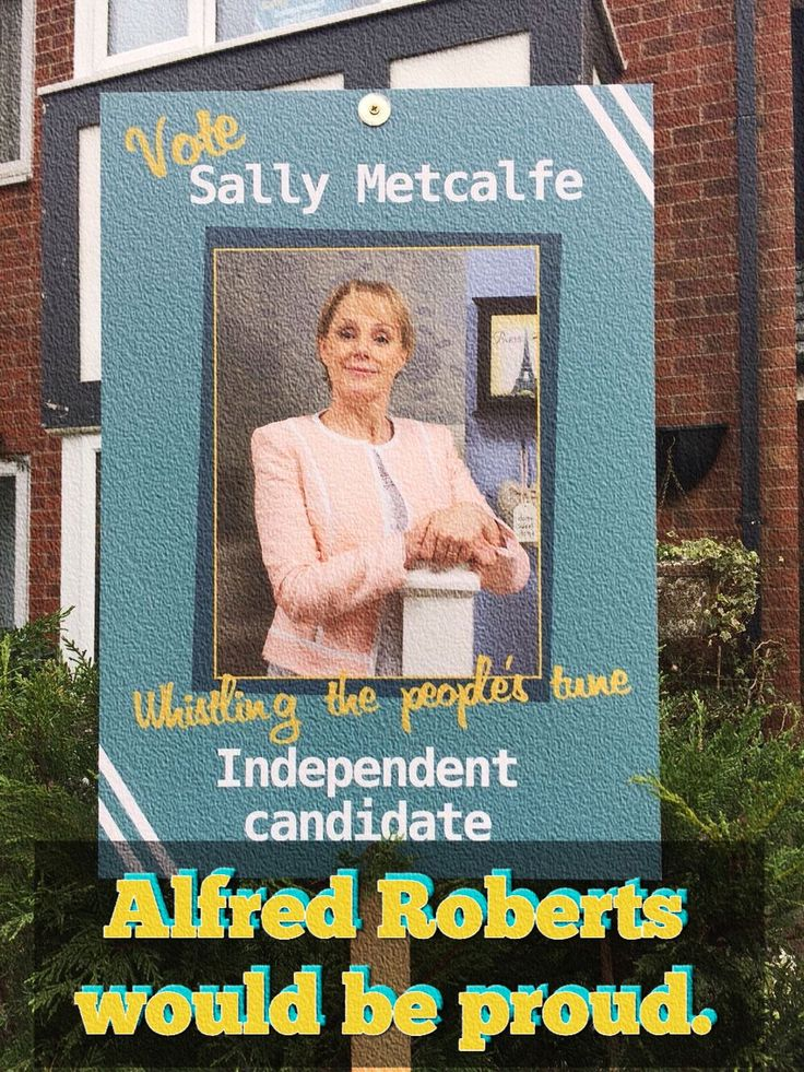 Alf was Coronation Street's Fair Trader. He was the kind pragmatic Grocer that sat on the Council. He owned where D&S Alahan's is today. (2016). Allie introduced us to Fred and Ashley Peacock. Audrey was his Queen. Sally Metcalfe is our latest elected.
