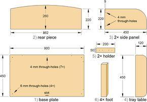 Instrucciones de montaje de cuna adosada