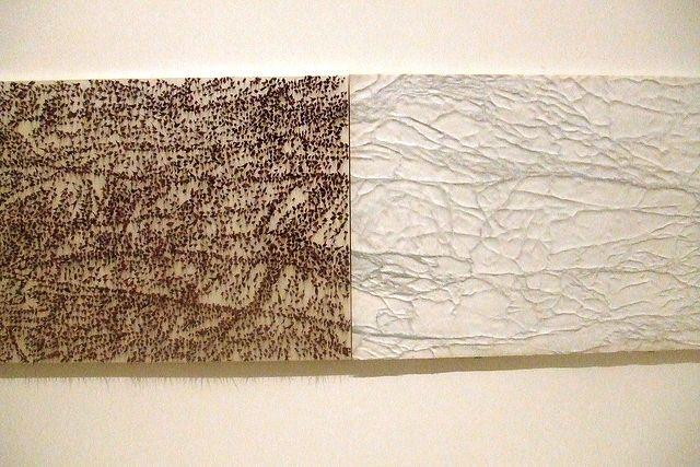 """Giuseppe Penone (Grenoble): """"d'un coté il y a le marbre lisse..."""" De l'autre les épines"""