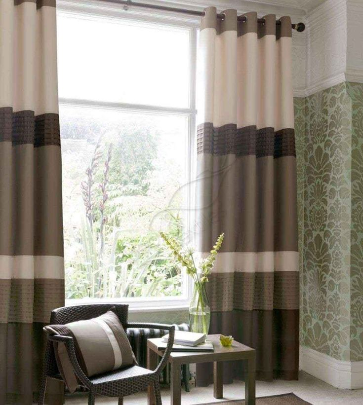 Living Room Curtains | ... , Modern Curtain for Bedroom and Living Room: Natural Modern Curtain