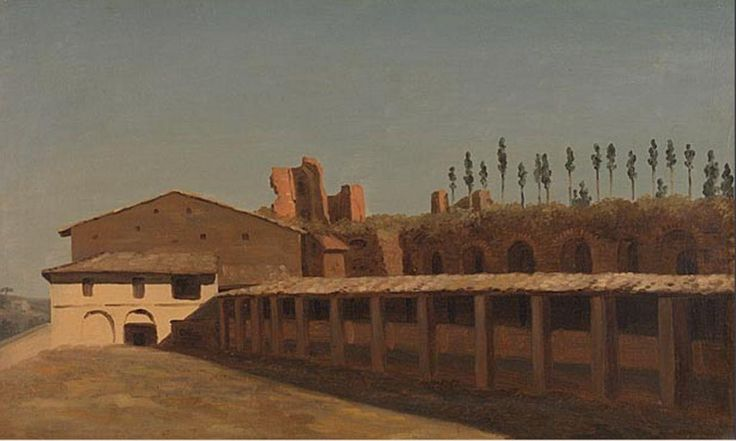 Pierre-Henri de Valenciennes. Etables et maisons sur le mont Palatin (1782-1784)