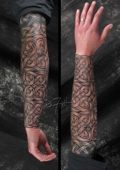 Download Free Celtic sleeve tattoo to use and take to your artist.