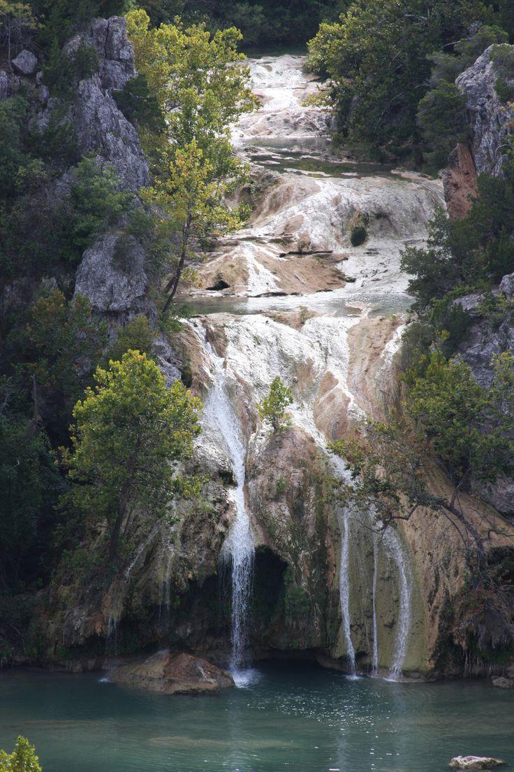 Turner Falls, the tallest waterfall in Oklahoma at 77 feet.  Davis, OK.  10/2014.
