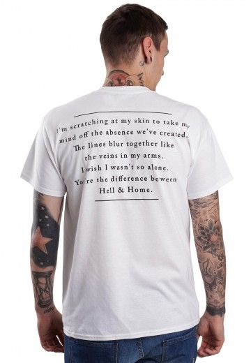 Counterparts - The Difference Between Hell And Home White - T-Shirt - Boys - Official Ticket Online Shop - Impericon.com Worldwide