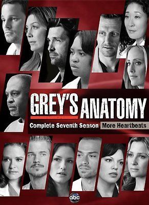 Grey's Anatomy, Complete Season 7, DVD, Factory Sealed, New, Free Shipping