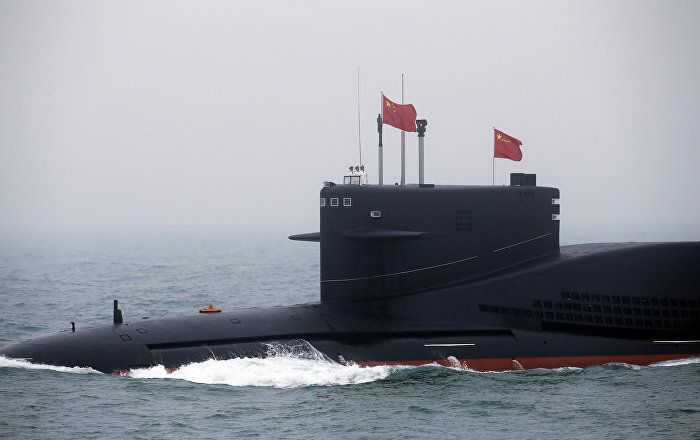 China Presents Its Top Notch Nuclear Sub Destroyer In Navy Day Parade Nuclear Submarine Navy Day Aircraft Carrier
