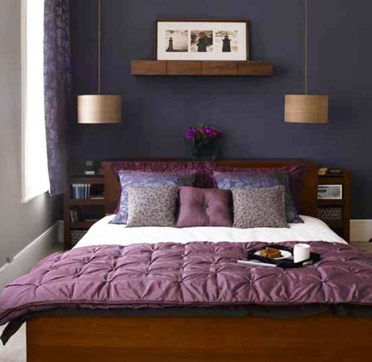 Best 25+ Dark Purple Bedrooms Ideas On Pinterest