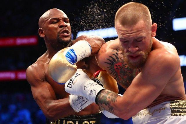 Mayweather l'emporte face à McGregor au 10eround