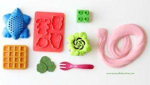 Slime sensory play activities for kids. Slime printing!