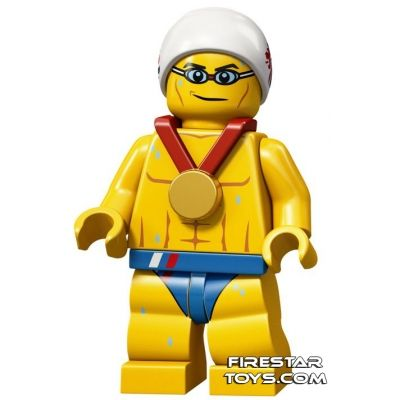 LEGO Team GB Olympic Minifigure - Stealth Swimmer