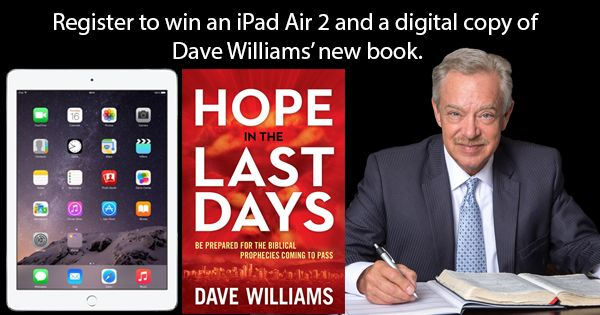 Dave Williams Ministries - Win an iPad Air 2 - http://sweepstakesden.com/dave-williams-ministries-win-an-ipad-air-2/