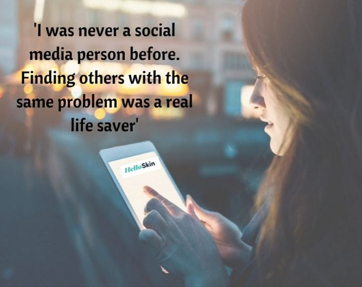 For some social media can be a much-needed community a place to express themselves a saving grace. Do you share this experience?