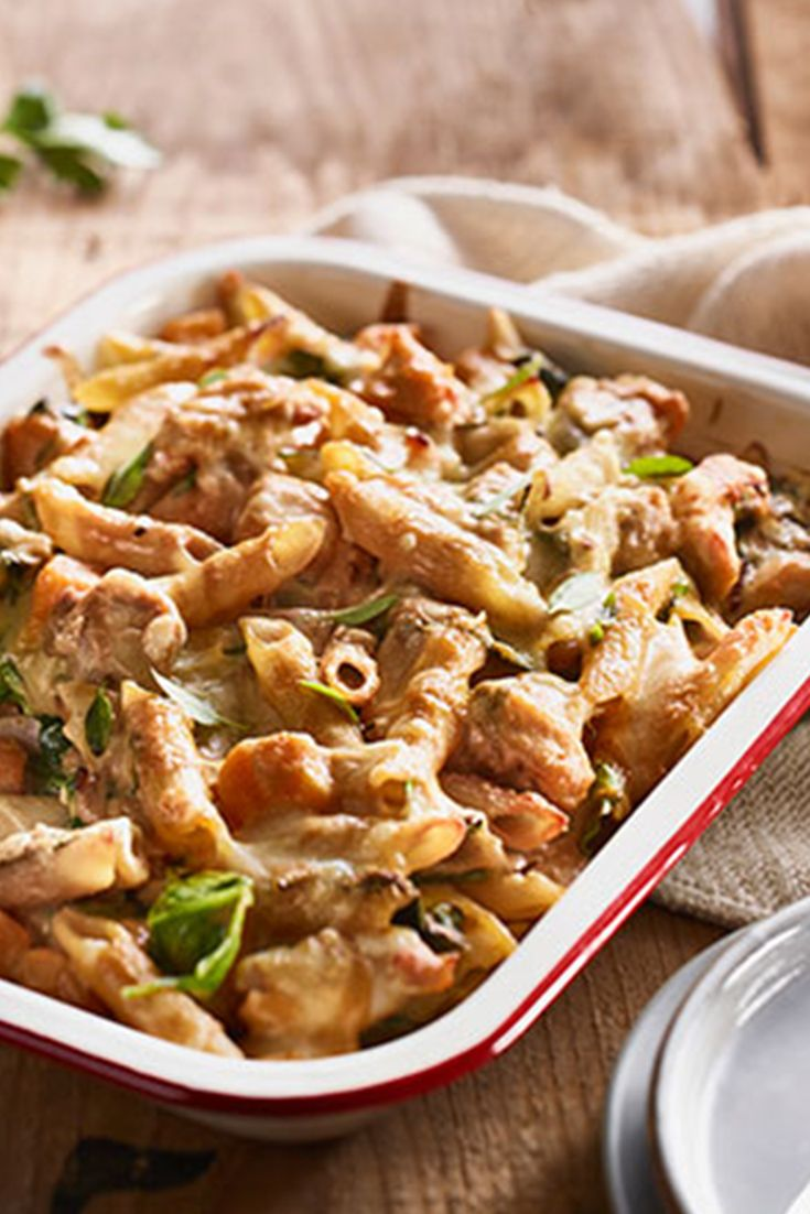#RecipeoftheDay: Simple Chicken Pasta Bake - One the whole family will enjoy.