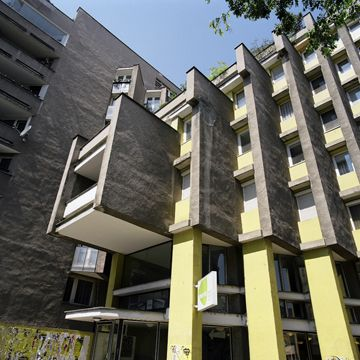 EASTMODERN Architecture of the 1960s and 1970s in Eastern Europe. Bratislava, residential house.