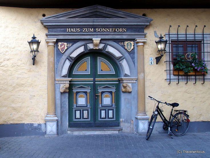 Renaissance gate in Erfurt, Germany