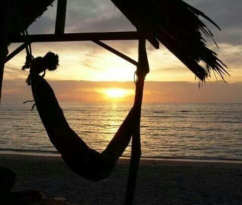 Beach, sea, ayas, sun, eventide, Adana