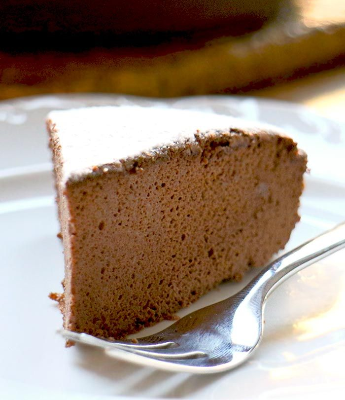Low Carb Rezepte   Schoko-Souffle-Kuchen