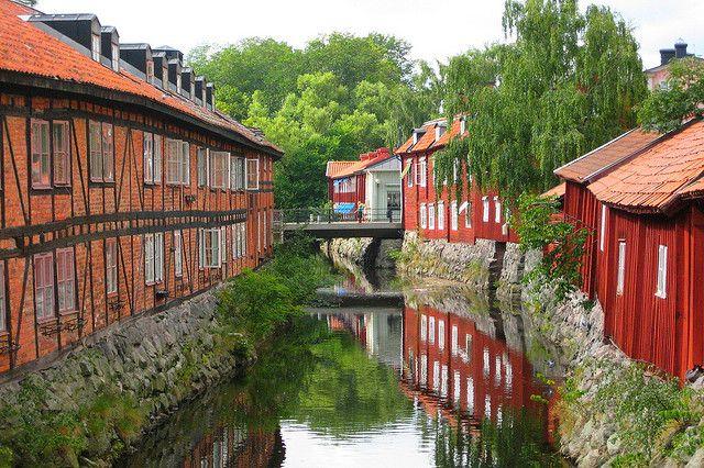 Svartån Västerås, Sweden by Staffan_R, via Flickr