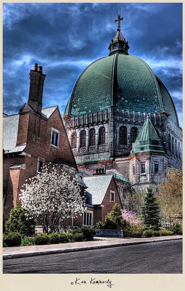 Saint Joseph's Oratory in Montreal, Canada | HDR Photo © Ken Kaminesky |