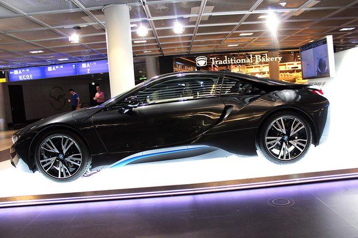 Plug-In Hybridauto BMW i8 in Frankfurt am Main