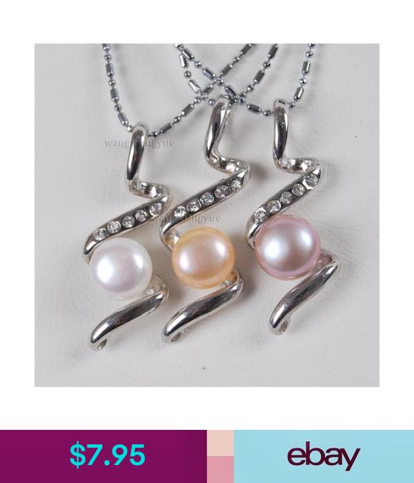 9mm Purple AKoya Cultured Pearl Pendant Necklace AAA 17/'/'