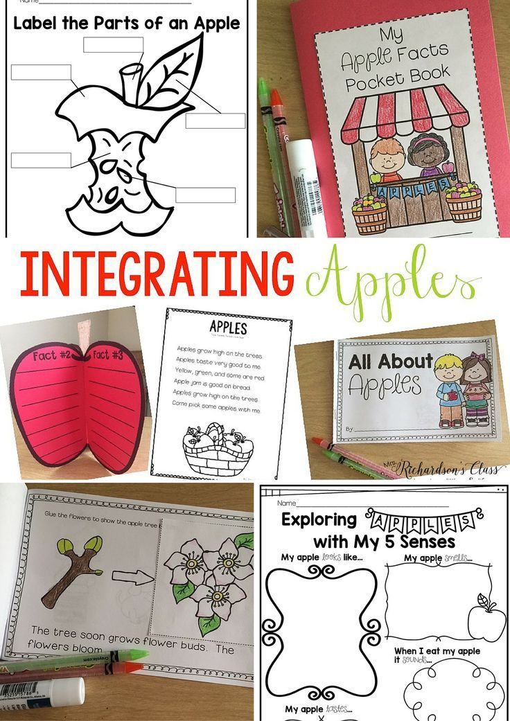 MUST SEE Apple Unit for kindergarten and first grade filled with engaging activities as students explore apples! Great science unit! #mrsrichardsonsclass