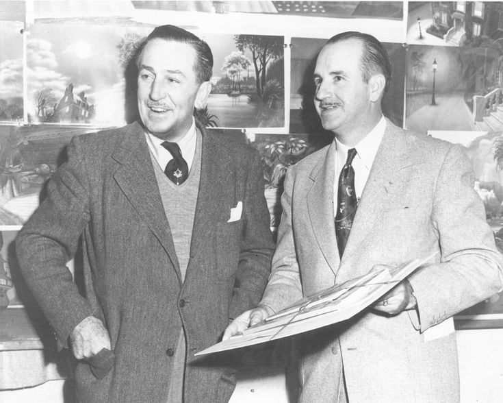 George Jenkins (Founder of Publix Supermarkets) with Walt Disney in 1947