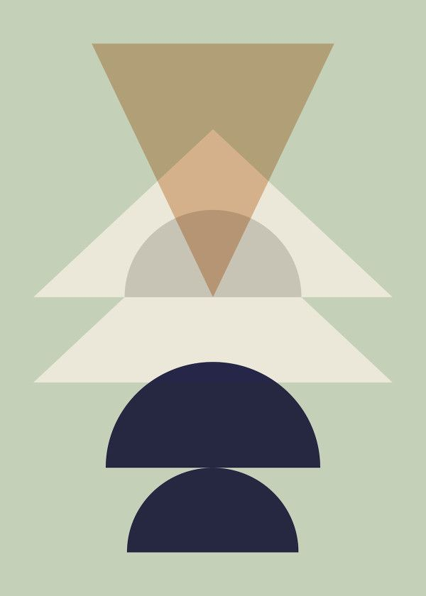 Ferm Living Geometry Posters