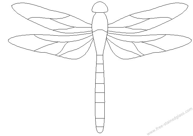 Resource image intended for dragonfly template printable