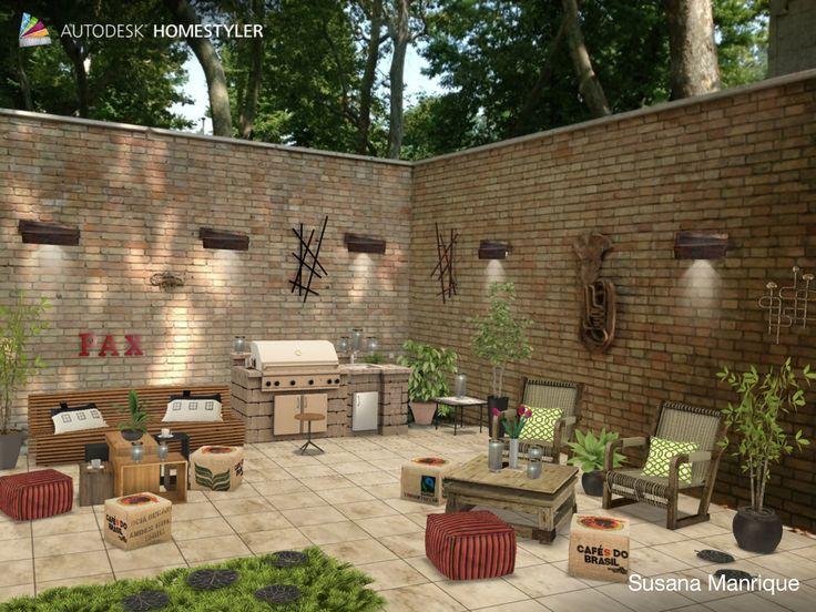 "Eche un vistazo a mi #diseño interior ""C"" de #Homestyler http://www.homestyler.com/mobile"