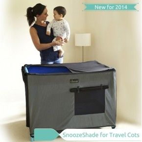 SnoozeShade for Travel Cots - New