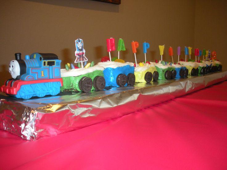 Homemade Thomas The Train Cake Ideas