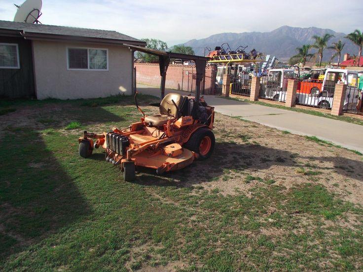 """SCAG zero turn mower 61"""" / Turbo Diesel Low Hours Diesel /Riding Mower"""