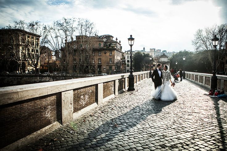 destination wedding photographer in Italy. A dreamy romantic wedding in ROME. Photos by: www.studiopensiero.it
