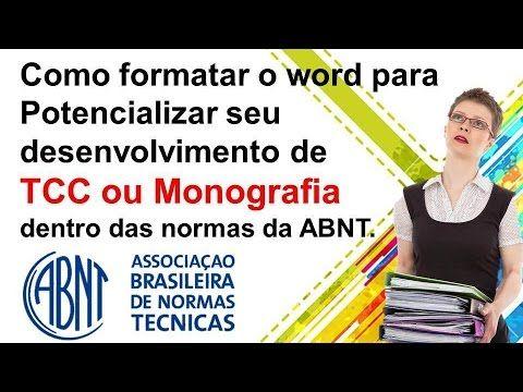 Formatação Abnt-explore o word dentro das normas abnt