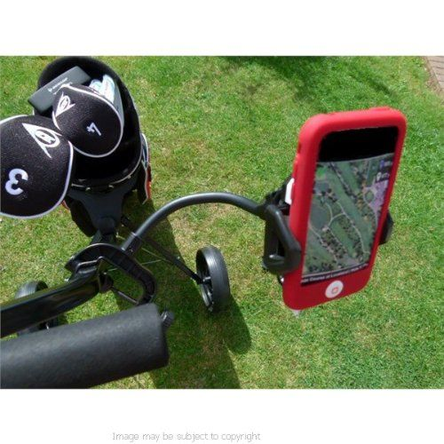 iPhone 4 Holder with Golf Trolley  Cart Mount sku 11447 * Check out the image by visiting the link.