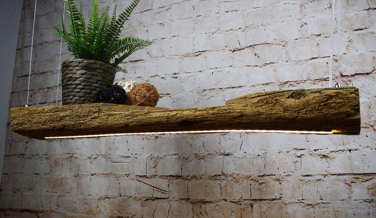 Hängelampen - Premium Design LED Hängelampe aus Antik Eichenholz - ein Designerstück von DD-Designz bei DaWanda