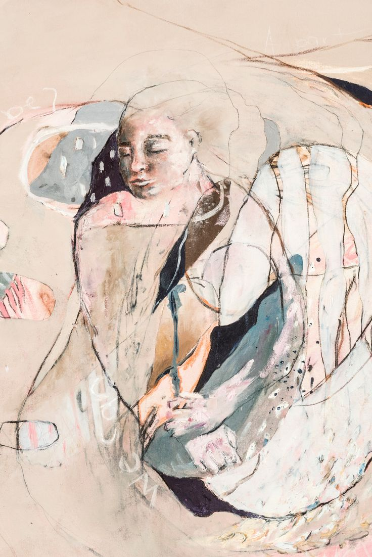 Taylor Hall, 'Of Self and Landscape', 2015, Painting category, [Trinity College, Lismore] - ArtExpress 2016, HSC artworks of 2015, Art Gallery of NSW, Sydney, Australia