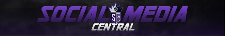 The Sacramento Kings social media central that I developed.
